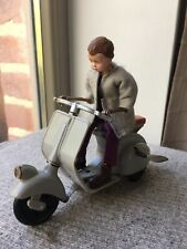 Rare Vintage Spain paya Toys Vespa Lambretta Plastique Scooter