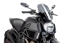 PUIG Naked Touring Windscreen - Dark Smoke 7570F DUCATI Diavel Diavel Carbon etc