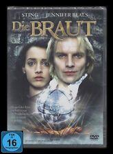 DVD DIE BRAUT - FRANKENSTEIN-VERFILMUNG mit JENNIFER BEALS & POLICE-SÄNGER STING