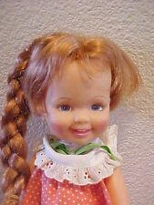 1972 Ideal Cinnamon Doll Crissy & Velvet Family Original Outfit Too Cute Nice