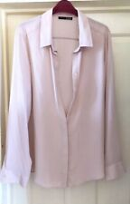 Atmosphere Peach Beige Floaty Blouse, Size 18 - Lovely!