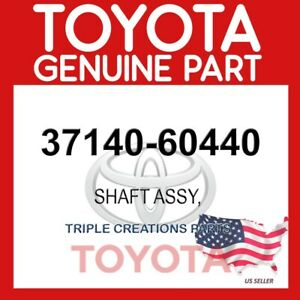 GENUINE Toyota 37140-60440 SHAFT ASSY, PROPELLER, FRONT 3714060440 OEM
