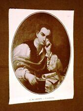 Firenze nel 1911 Mostra del ritratto italiano G.M.Crespi - L'architetto