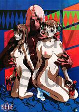 """Kite * Yasuomi Umetsu Japanese Hentai Anime Large Promo Poster 20"""" x 29"""""""