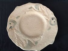 Vintage Melba Ware H. Wain & Sons Ltd. Melba Works Longton Fish Dinner Plate