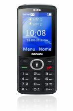 Telefonino Brondi King Nero Dual Sim Cellulare  + Auricolari con microfono