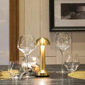 Cordless Bar Table Lamps Rechargeable Battery Led Desk Lamp Restaurant Bed Light