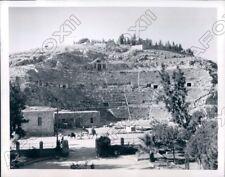 1946 Amman Jordan Home Of King Husseins Son At Roman Theatre Press Photo