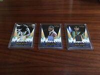 2013 Panini Beach Boys 3 Card Concert Gear Card Lot Wilson Marks
