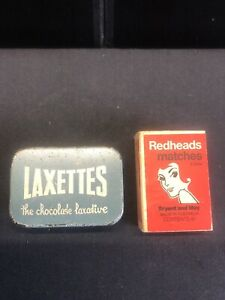 VINTAGE LAXETTES - THE CHOCOLATE LAXATIVE TIN -MELBOURNE