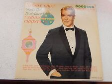 VINYL LP...NELSON EDDY -CAROLS OF CHRISTMAS HARMONY/COLUMBIA REC. HL-7201