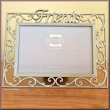 """Friends Photo Frame by Prinz Holds 4"""" High x 6"""" Wide Free U.S. Shipping"""