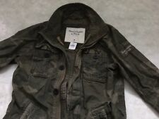 ABERCROMBIE & FITCH MENS MILITARY INSPIRED NOONMARK Sentenial JACKET CAMO SIZE M