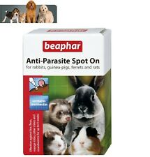 Beaphar Anti Parasite Spot On Ferret Rabbit Guinea Pig Rat 35g