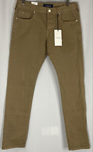 Scotch & Soda Men's Jeans 31x32 Ralston  Regular Slim Color:Brown  Nwt