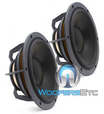 "2 DYNAUDIO ESOTEC MW162 MIDS 6.5"" 120W 4-OHM MIDRANGE AUDIO 6 1/2"" SPEAKERS NEW"