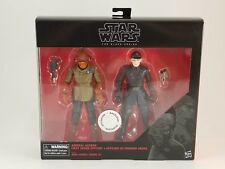 Star Wars The Black Series 6 Inch Admiral Ackbar and First Order Officer Action