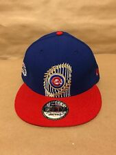 Chicago Cubs Custom New Era 9FIFTY 2016 World Champs Trophy Limited Edition
