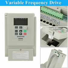220v 1.5kw 1 to 3 Phase Motor Variable Frequency Drive Inverter Converter Fans