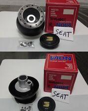 Mozzo per Volante Sportivo per Vetture  Seat - Completo di Pulsante Claxon NEW!