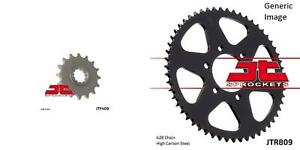 Front and Rear Steel Sprocket Kit for OffRoad SUZUKI SP125 1986-1988