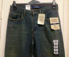 Para Hombre/adolescentes Levis Strauss BNWT Calce Recto Bootcut Jeans Premium Vintage fue