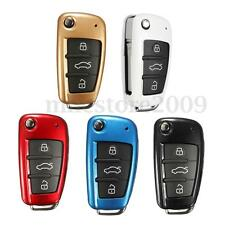 Multicolor Remote Car Key Shell Case Cover Protection ABS Plastic For Audi New
