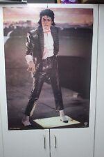 """VINTAGE 1980'S MICHAEL JACKSON BILLIE JEAN MUSIC VIDEO POSTER 22X33"""" BOWTIE"""