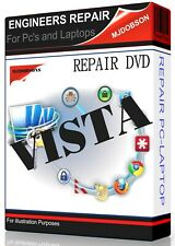 Windows Vista Re-Installation  Disc All Versions (32 / 64 bit) REPAIR DISC
