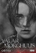 IL TRONO DI SPADE GAME OF THRONES MANIFESTO ARYA STARK MAISIE WILLIAMS