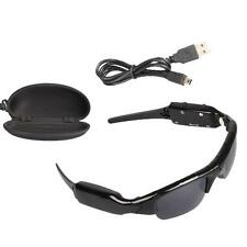 Black Mini DV/DVR Sunglasses Camera Video SPY Hidden Audio Sports Recorder 8GB