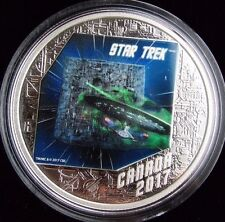Star Trek: The Borg - 1 oz. Pure Silver Coloured Coin (2017) Canada