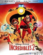 The Incredibles 2 (Blu-ray 2 Discs, 2018) ***FREE SHIPPING***
