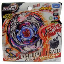TAKARA TOMY Metal Fusion Zero-G Beyblade Samurai Ifraid W145CF + Launcher BBG-01