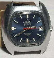 orologio vintage  WINTHAL dial TV ETA 2772 funzionante uomo swiss made CAUSA PAN