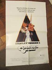 Clockwork Orange   - MINT 1sheet Movie Poster-    Kubrick