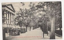 South Africa, Government Avenue & Parliament House Cape Town Postcard, B030