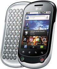 LG OPTIMUS CHAT C555 UNLOCKED CELL PHONE FIDO ROGERS CHATR TELUS BELL KOODO AT&T