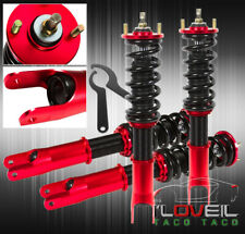2001-2005 Lexus Is300 JDM Fully Adjustable Suspension Damper Coilover System Red
