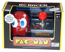 Pac-Man Wireless Infrared Red Ghost RC Racer Authentic Arcade Sounds Joystick