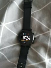 GEN 5 FOSSIL smartwatch Black, used for 3 months