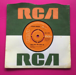 """A252 Come Back And Shake Me, Clodagh Rodgers, 7""""45rpm Single Excellent Condition"""