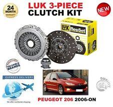 Per PEUGEOT 206 1.6 HDi 110 109BHP 2006-on KIT FRIZIONE ORIGINALE LUK 3 pezzi