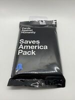 Cards Against Humanity SAVES AMERICA PACK Expansion NEW & SEALED