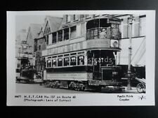 London Tram PADDINGTON M.E.T. CAR 157 ON ROUTE 60 Pamlin Print Postcard M471