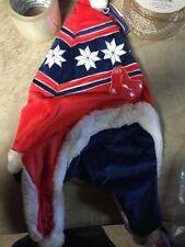 Boston Red Sox Christmas Snowflake Hat