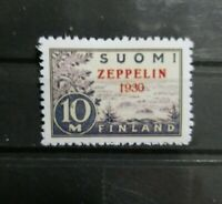Finland 1930 C1 Zeppelin Overprint Reproduction Reprint Place Holder