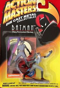 Batman The Animated Series Catwoman Die Cast Metal Collectible Figure Free Ship
