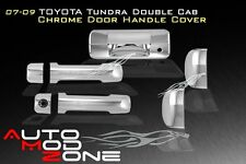 07-13 Toyota Tundra Double Crew Cab Chrome 4 Door Handle + Tailgate Cover Combo