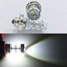 2x 12V P26 S 50W CREE LED White Motorbike Motorcycle Headlight Car Bulb Lamp AC